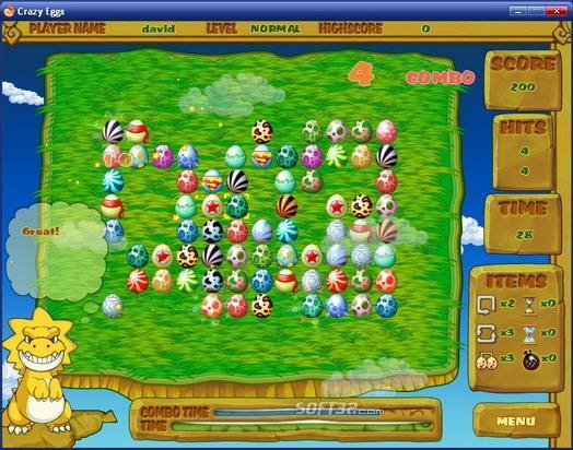 Crazy Eggs MAC Screenshot 2