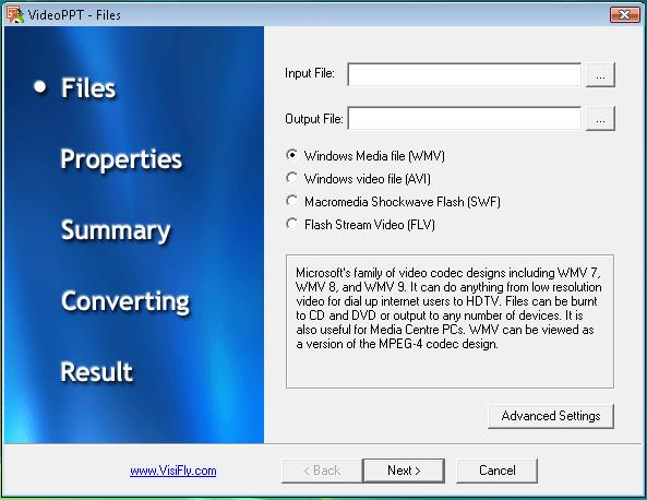 VisiPPT Screenshot