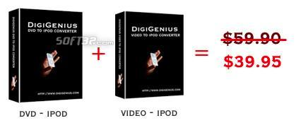 DigiGenius Digigenius DVD to iPod Converter + Video Screenshot 2