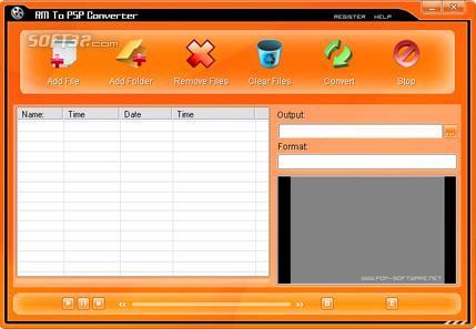 RM To PSP Converter Screenshot 2