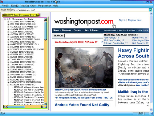 ! Read 2000 American Newspapers Screenshot