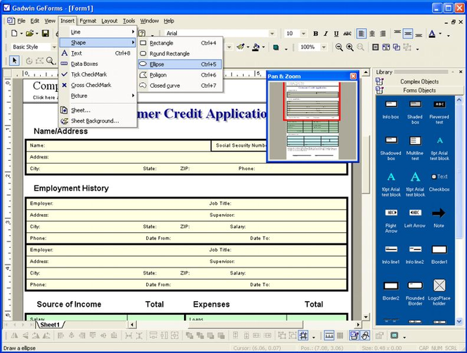 GeForms Screenshot