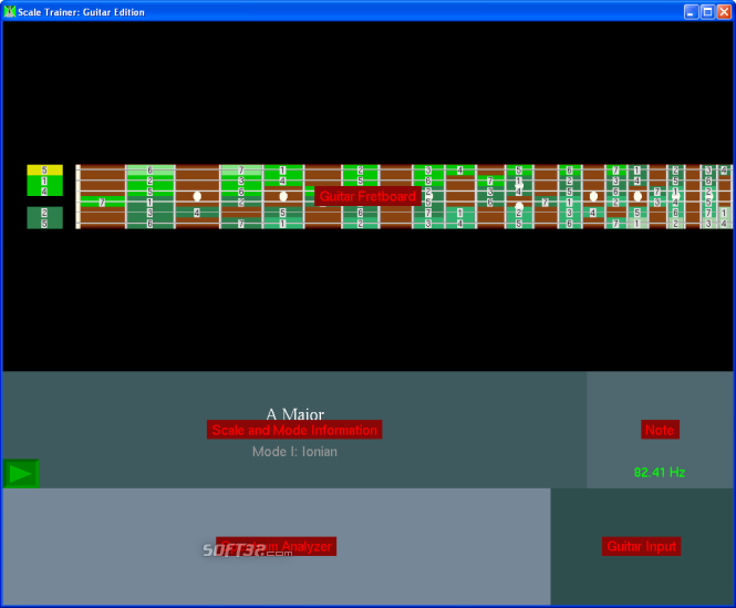 Scale Trainer Guitar Edition Screenshot 4