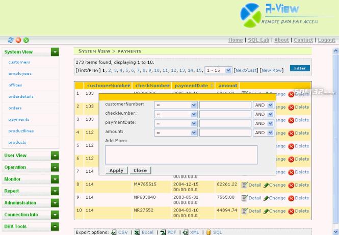 tmWorks R-View Screenshot 3