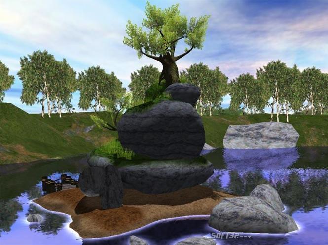 Magic Tree 3D Screensaver Screenshot 2