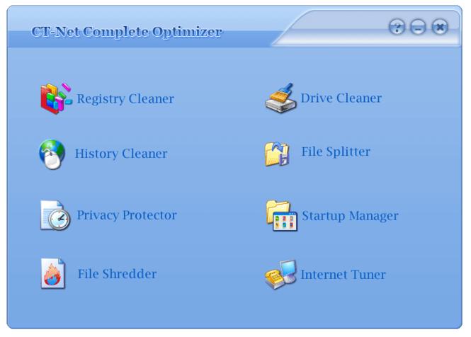 CT-Net Complete Optimizer Screenshot 1