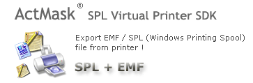 ActMask .SPL (Spool) Virtual Printer SDK Screenshot 1