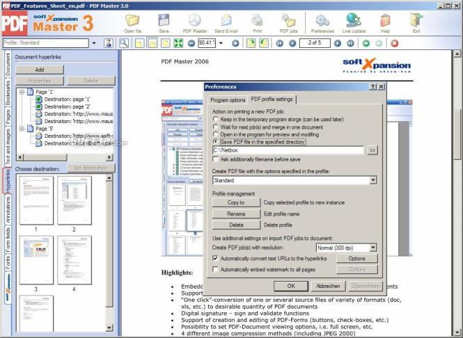 PDF Master Screenshot 2