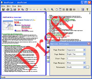 VeryPDF Mini EMF Printer Screenshot