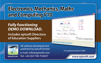 Electronics Mech Maths and Computing Screenshot