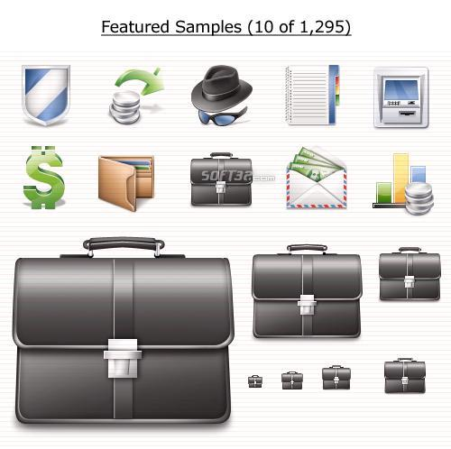Finance Icons Vista Screenshot 3