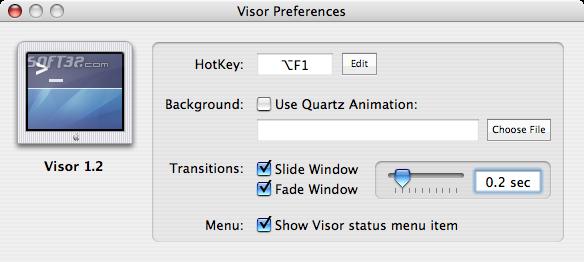 Visor Screenshot 2