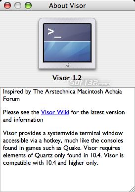 Visor Screenshot 3