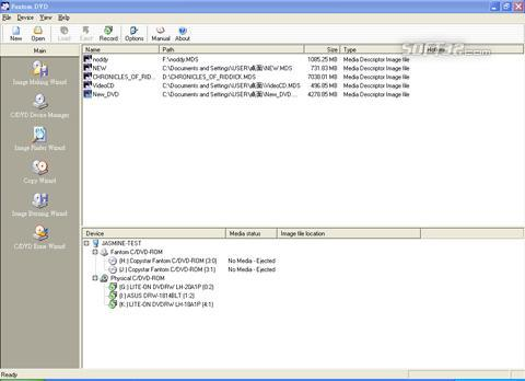 Fantom DVD Professional Screenshot 2