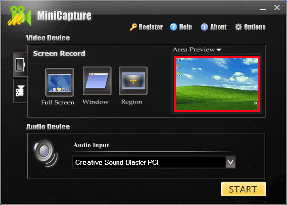 MiniCapture Screenshot