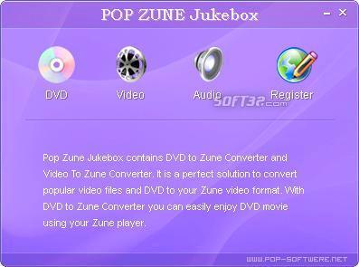 Pop Zune Jukebox Screenshot 3