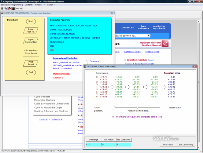 Computing and Information Technology Screenshot 4