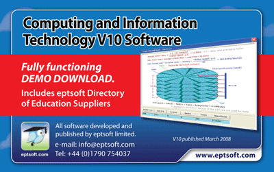 Computing and Information Technology Screenshot