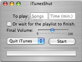 iTunesShut Screenshot 1