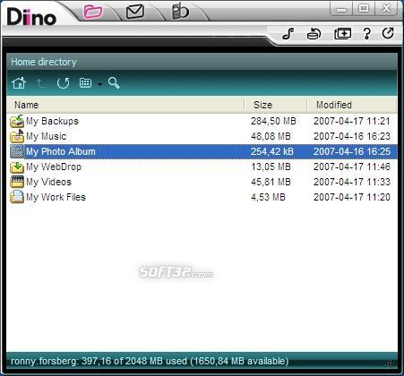 Diino Screenshot