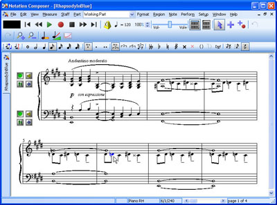 Notation Composer Screenshot 1