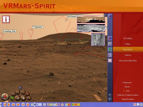 VRMars-Spirit - The Red Planet Mars 3D Screenshot