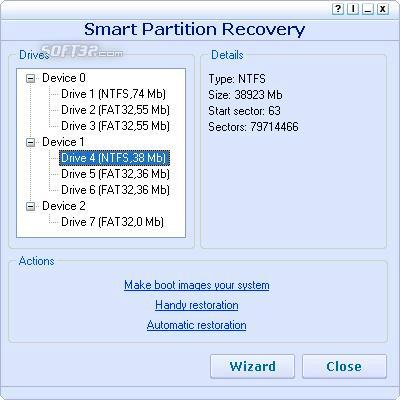 Smart Partition Recovery Screenshot 2