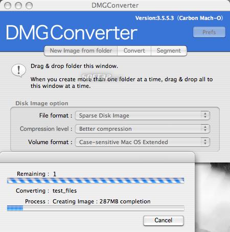 DMGConverter Screenshot 8