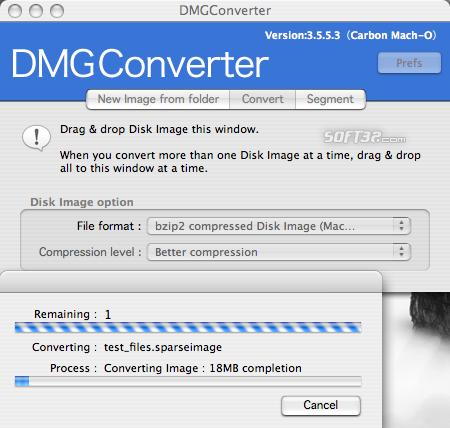 DMGConverter Screenshot 2