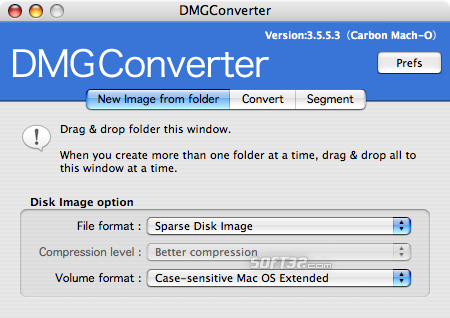 DMGConverter Screenshot