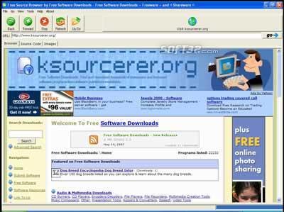 Free Source Code Browser Screenshot 2