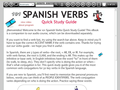 101 Spanish Verbs Quick Study Guide 3