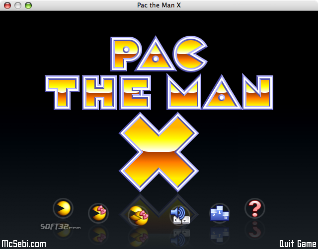 Pac the Man X Screenshot