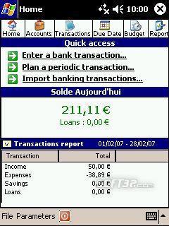 Accounts and Budget Pocket Screenshot 3