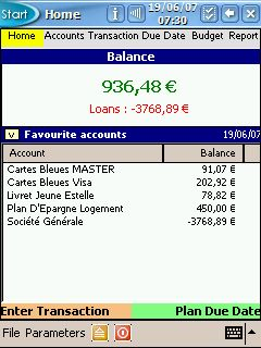 Accounts and Budget Pocket Screenshot
