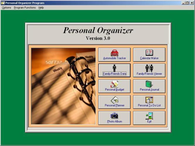 Personal Organizer Screenshot 3