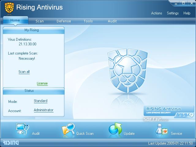 Rising Antivirus 2010 Screenshot 2