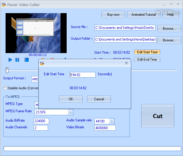 Power Video Cutter Screenshot 2