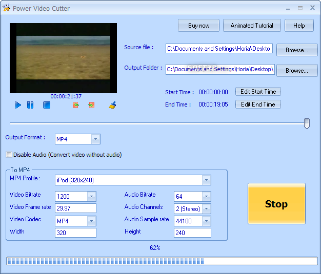 Power Video Cutter Screenshot 3
