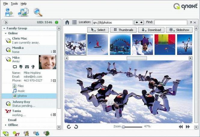 Qnext (Video Conferencing) Screenshot 2