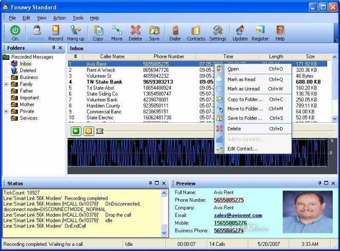 Fonawy Standard Screenshot 2