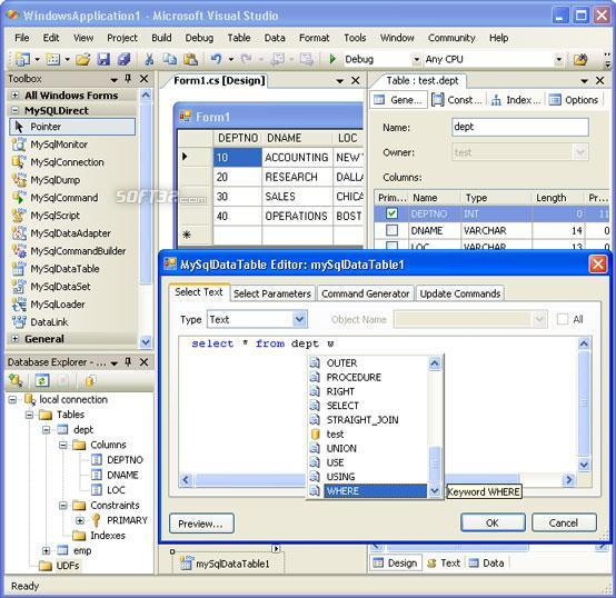 MyDirect .NET Screenshot