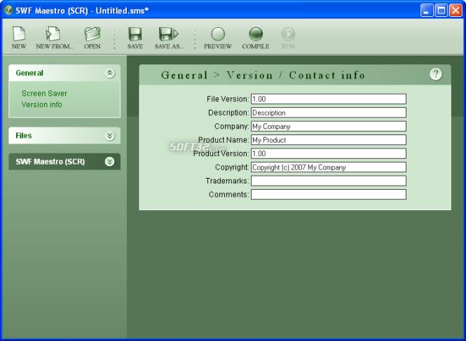 SWF Maestro SCR Screenshot 2