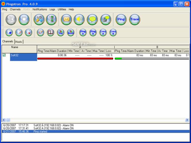Pingotron Pro Screenshot 1