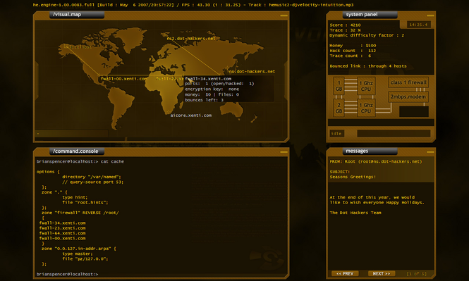 Hacker Evolution Screenshot 1