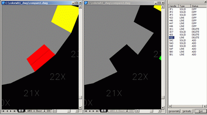 OverCAD Dwg Compare Screenshot