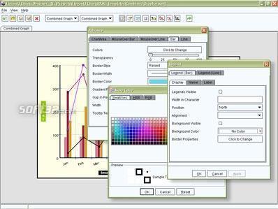 ElegantJ Chart Designer IDE Screenshot 3