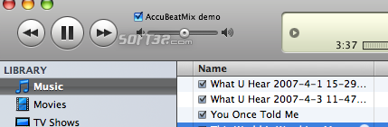 AccuBeatMix Screenshot 1