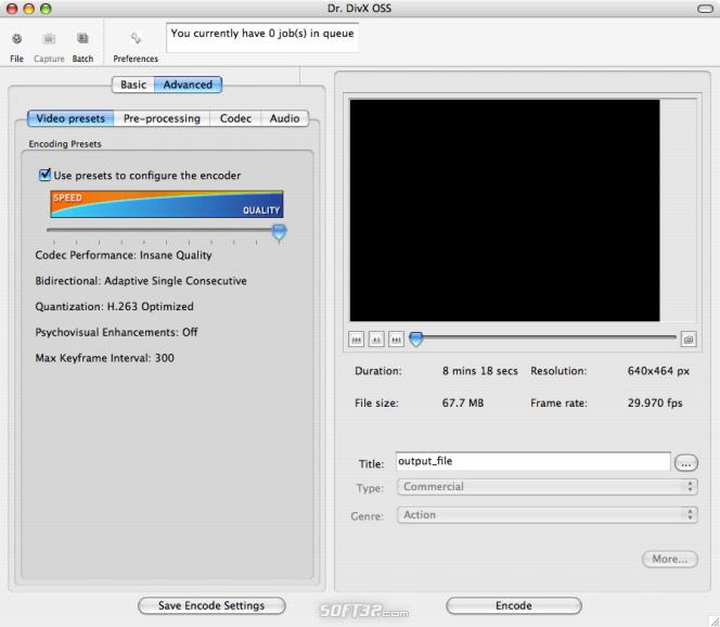 Dr. DivX for Mac Screenshot 2