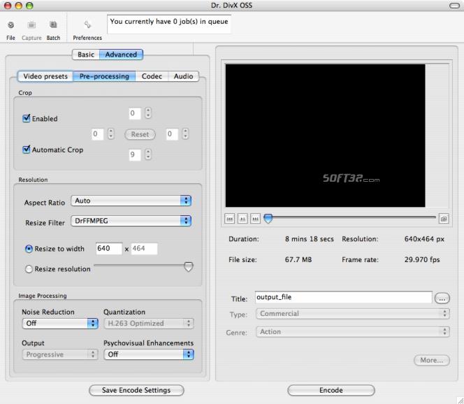 Dr. DivX for Mac Screenshot 3